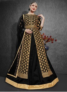Silk Embroidered Designer Lehenga Choli