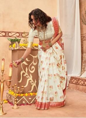 Silk Festival Traditional Saree