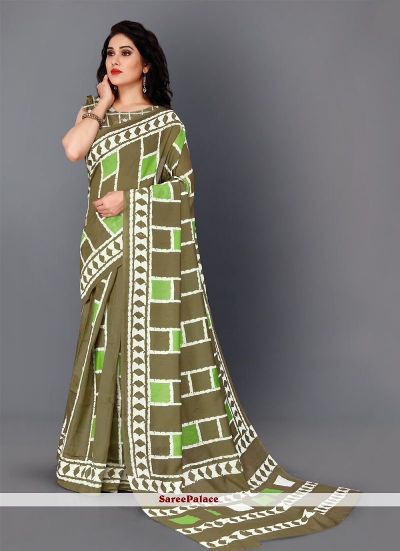 Silk Multi Colour Multi Colour Classic Saree