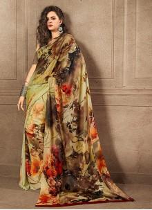 Silk Multi Colour Silk Saree