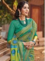 Silk Multi Colour Woven Traditional Saree