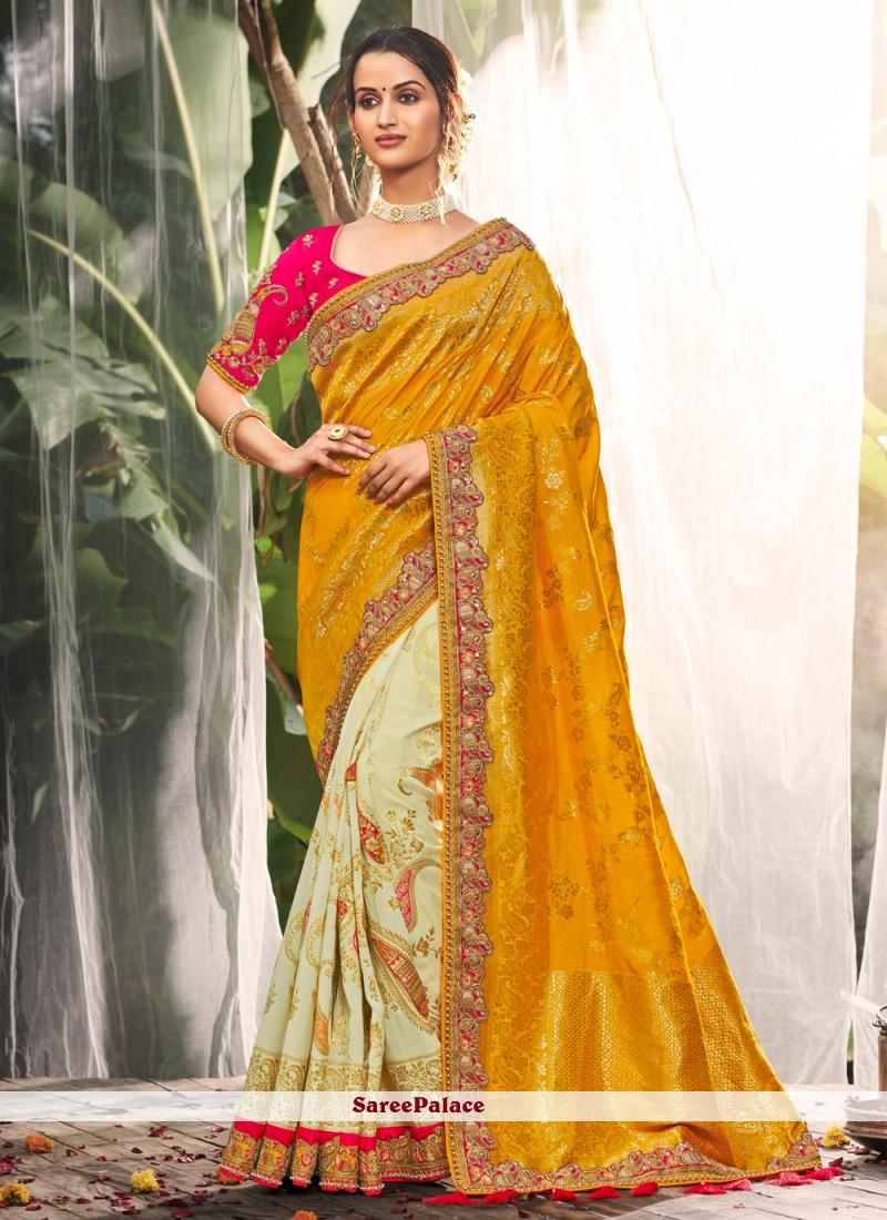Silk Party Multi Colour Classic Saree
