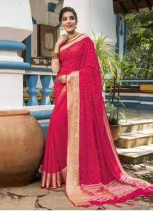 Silk Rani Traditional Designer Saree
