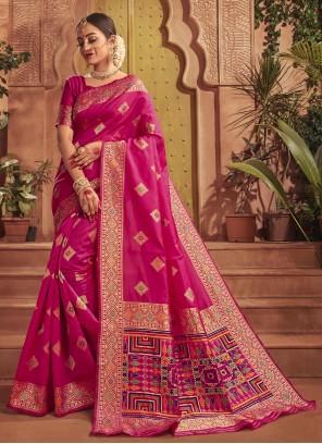 Silk Rani Traditional Saree