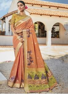 Silk Reception Designer Saree