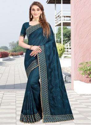 Silk Resham Designer Traditional Saree