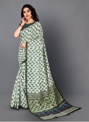 Silk Multi Colour Traditional Saree