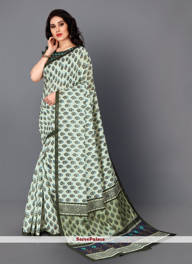 Silk Multi Colour Traditional Saree