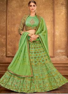 Silk Trendy Designer Lehenga Choli