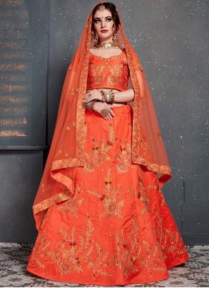 Silk Wedding Designer Lehenga Choli