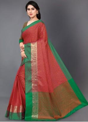 Silk Woven Casual Saree