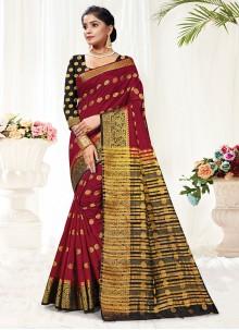 Silk Woven Traditional Saree