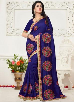 Silk Zari Work Saree