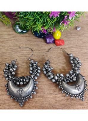 Silver Reception Ear Rings