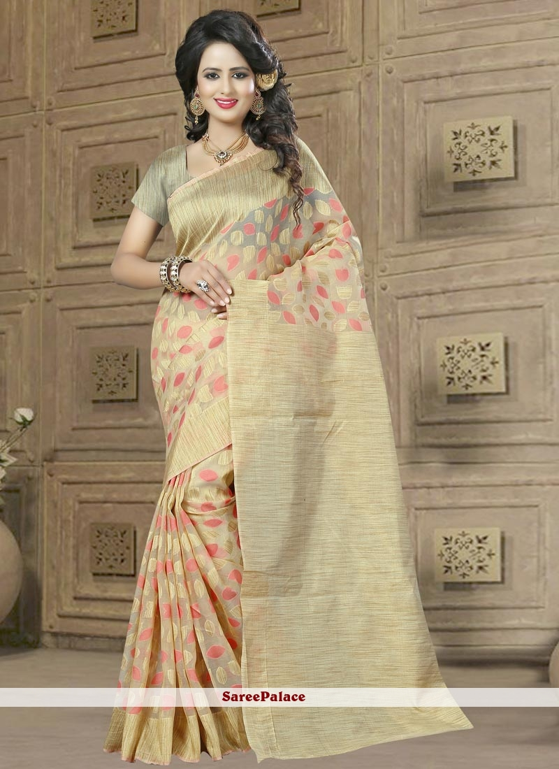 Simplistic Banarasi Silk Rose Pink Designer Traditional Saree