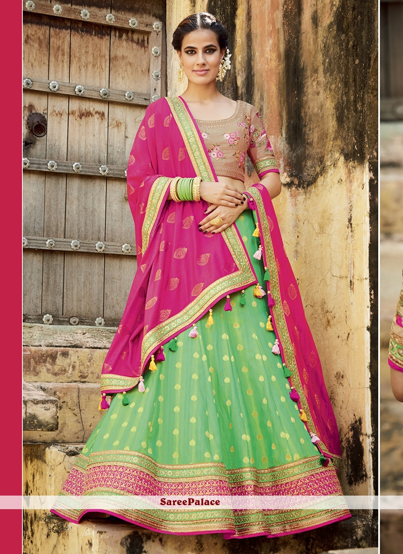 Sonorous Embroidered Work Lehenga Choli