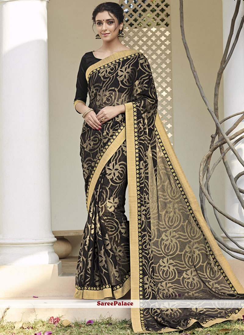 Sophisticated Printed Saree For Party