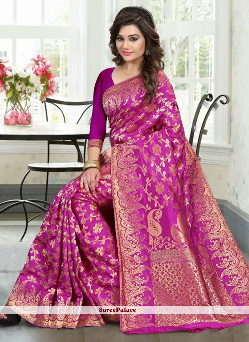 Sophisticated Traditional Designer Saree For Party