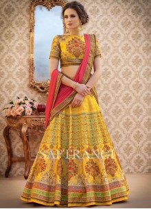 Specialised Resham Work Lehenga Choli