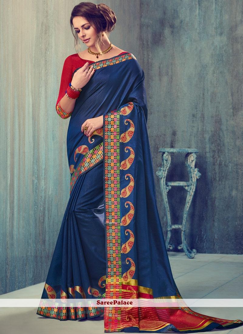 Spectacular Art Silk woven Work Traditional Designer Saree