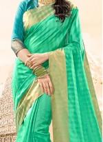 Spellbinding woven Work Traditional  Saree