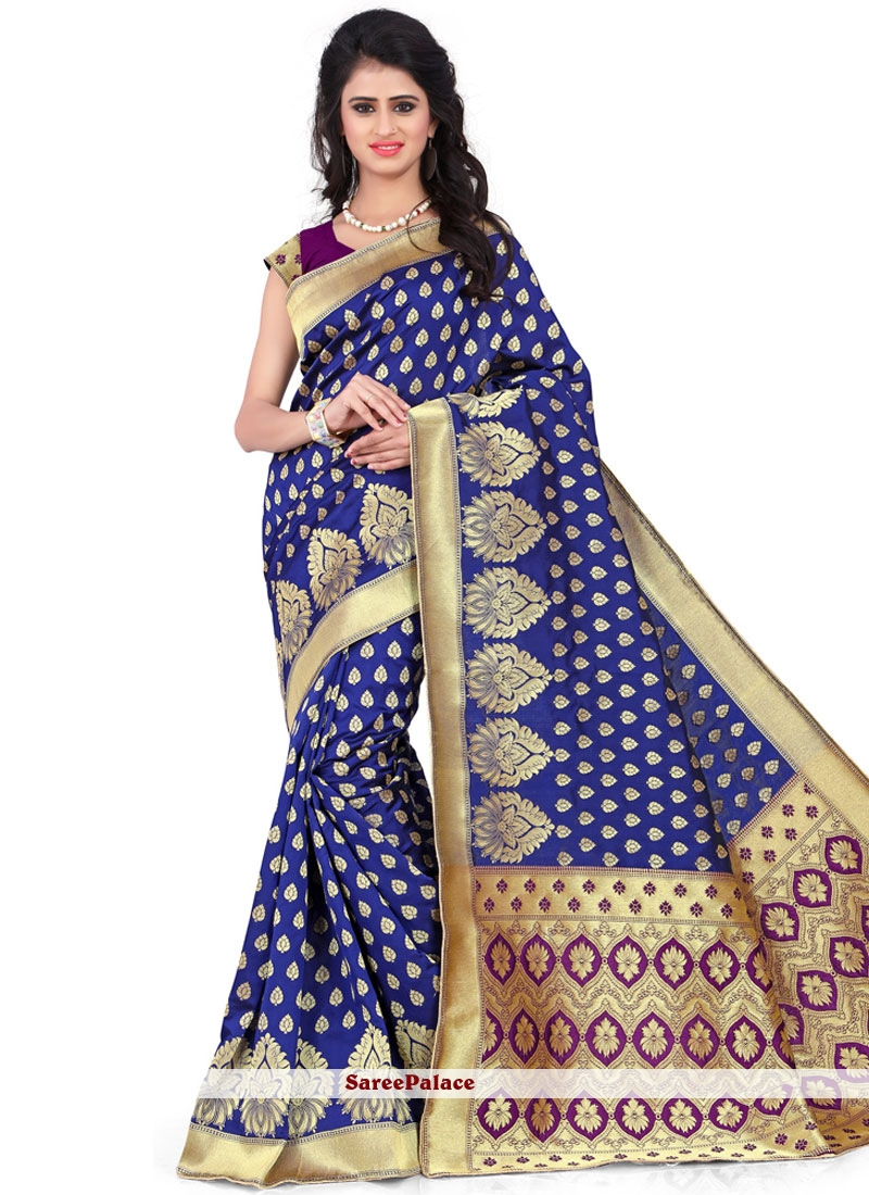 Splendid Weaving Work Traditional Designer Saree