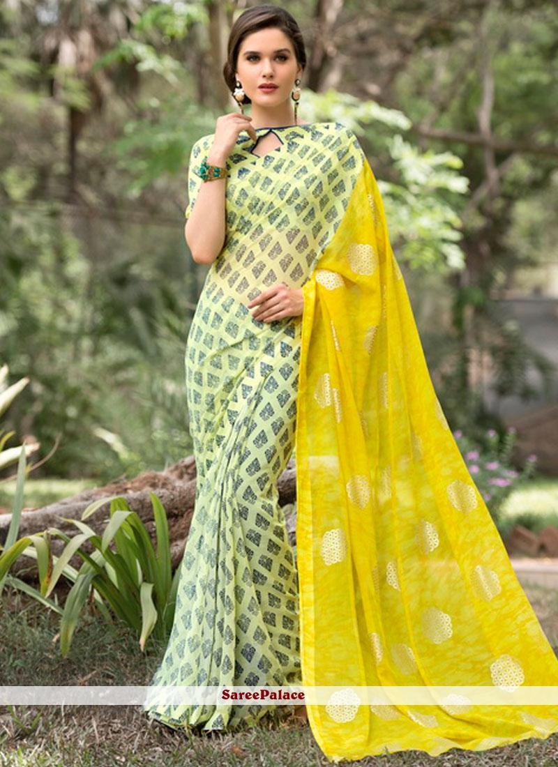 Staggering Multi Colour Casual Saree