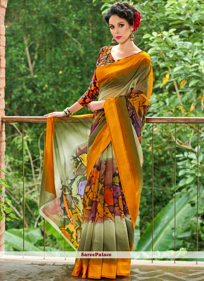 Staring Casual Saree For Casual