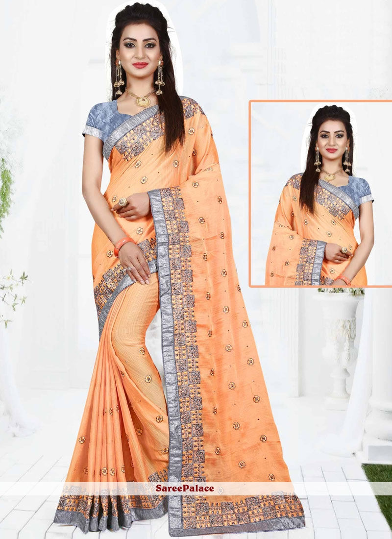 Suave Patch Border Work Designer Traditional Saree