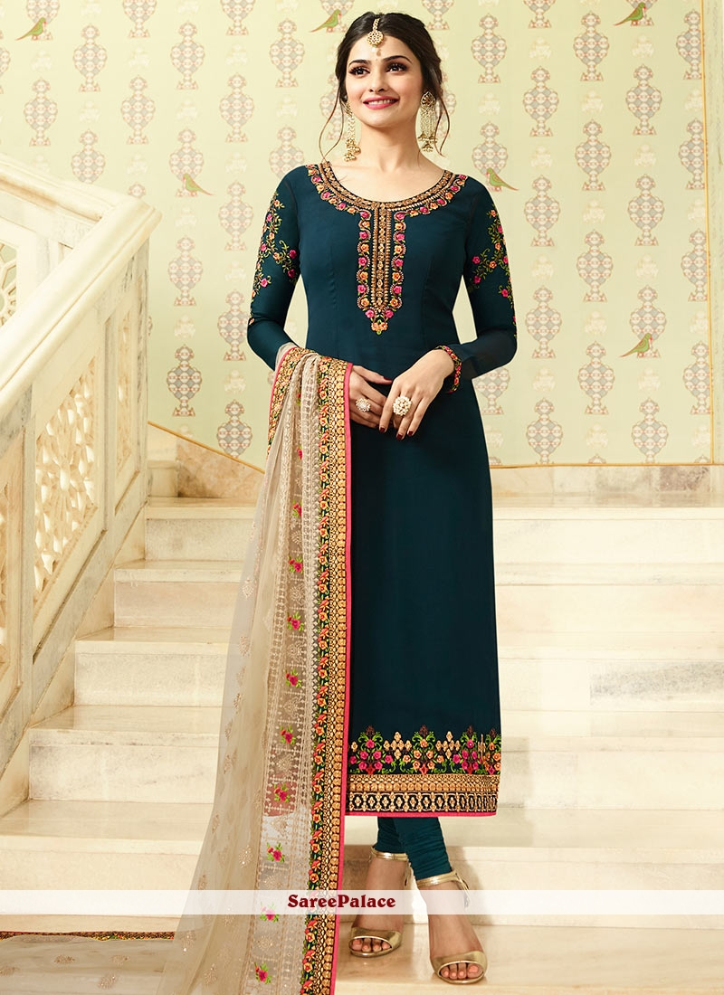 Superb Green Salwar Kameez