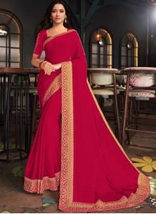 Tamannaah Bhatia Rani Silk Embroidered Designer Saree