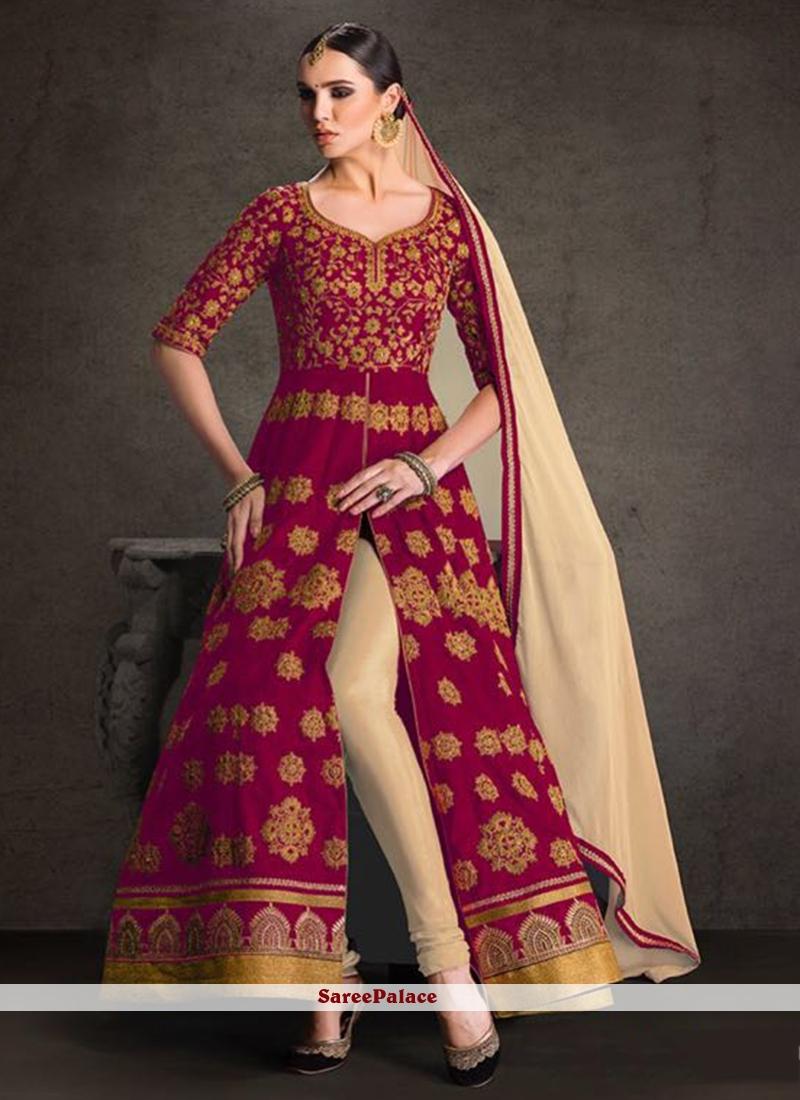 Tantalizing Banglori Silk Designer Floor Length Suit