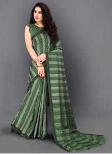 Thread Work Classic Designer Saree