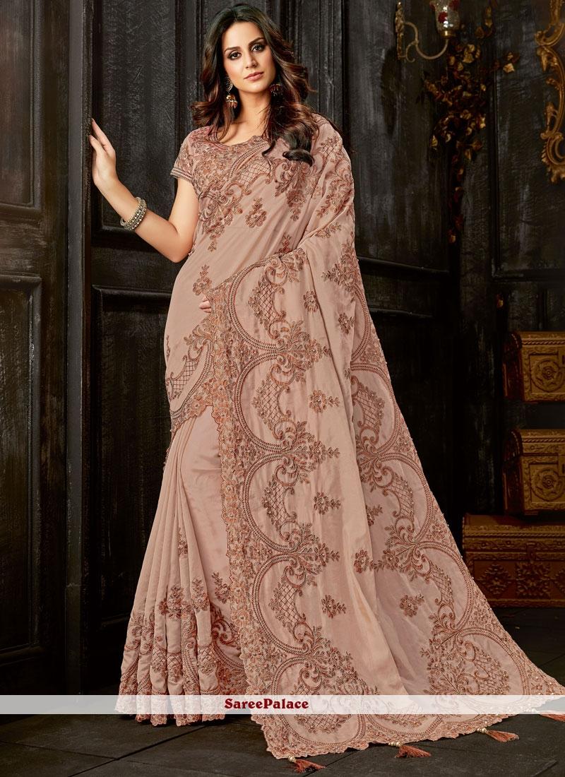 Tissue Classic Designer Saree in Mauve