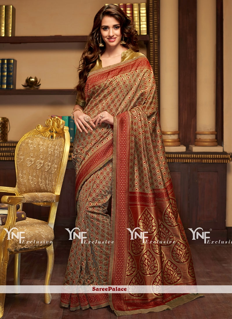 Transcendent Cotton Silk Weaving Work Traditional  Saree