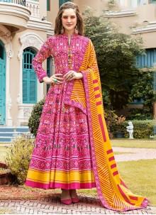 Trendy Anarkali Suit For Ceremonial