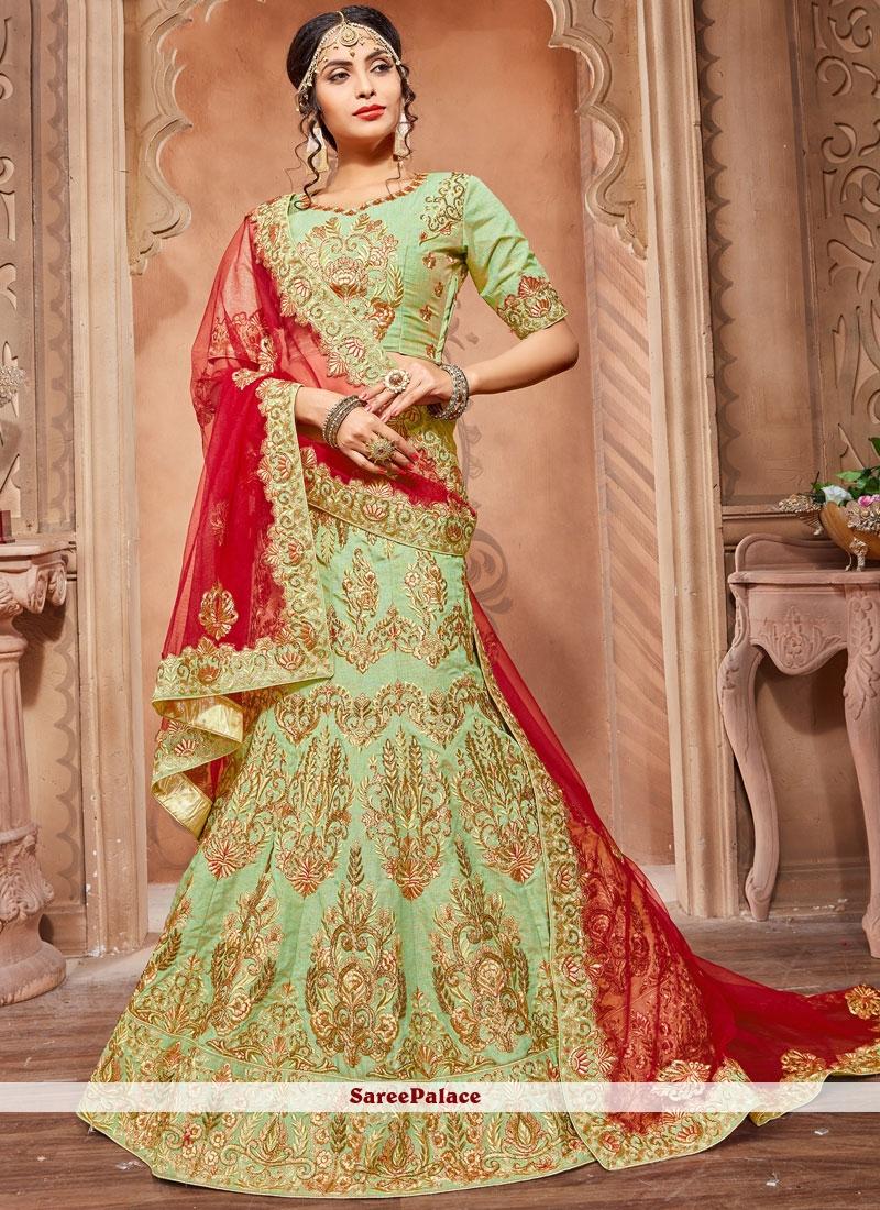 11995aeae4 Buy Trendy Art Silk Resham Work Lehenga Choli Online