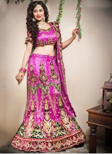 Pink Lehenga Choli For Sangeet