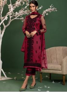 Pink Trendy Salwar Kameez For Party