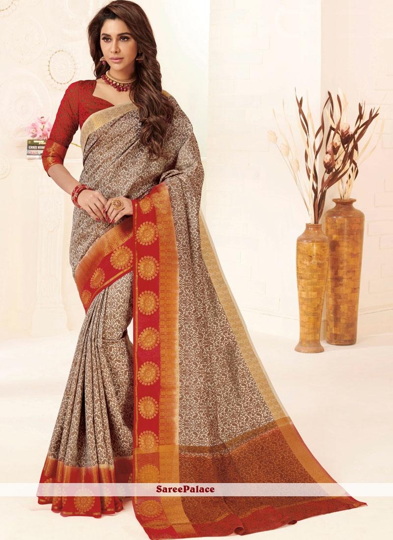Tussar Silk Multi Colour Weaving Designer Traditional Saree
