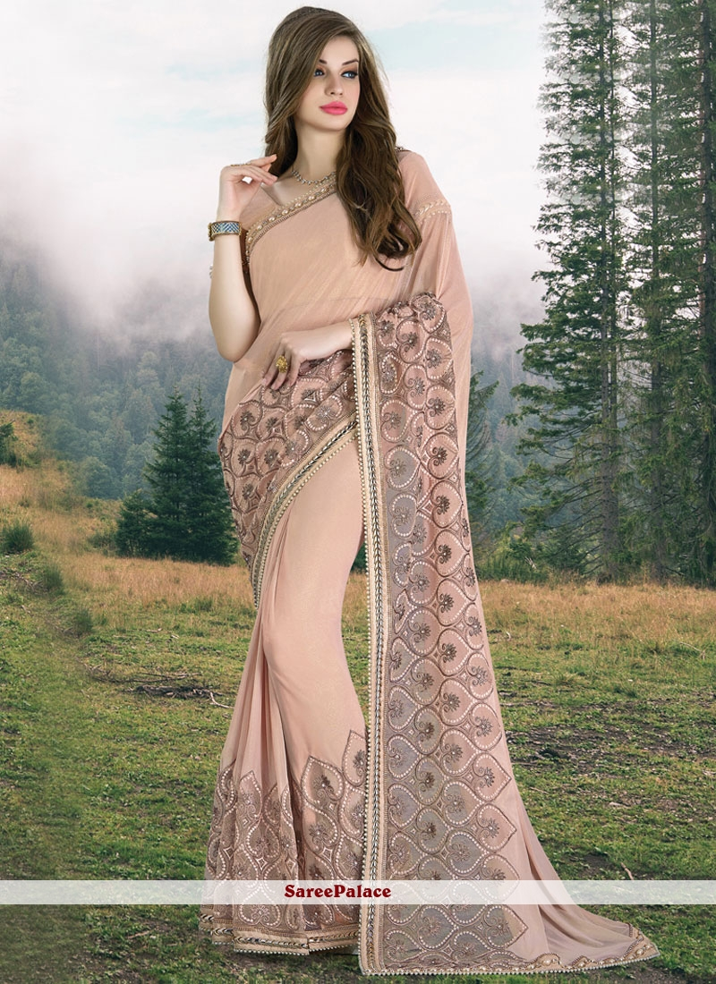 Urbane Designer Saree For Bridal