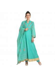 Viscose Mehndi Party Wear Kurti