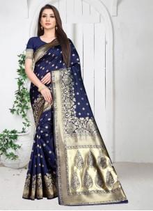 Weaving Art Silk Casual Saree