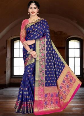 Weaving Silk Banarasi Saree