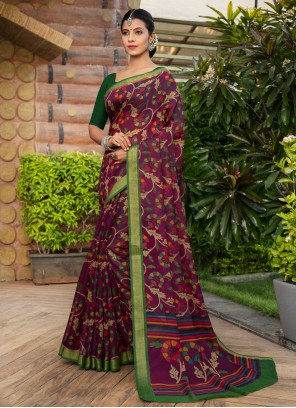 Weaving Multi Colour Bollywood Saree