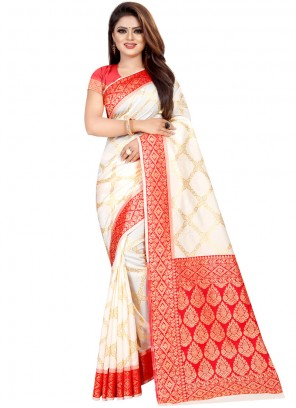 Weaving Ceremonial Designer Traditional Saree