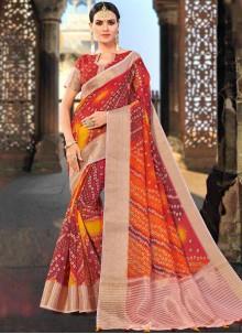 Weaving Ceremonial Shaded Saree
