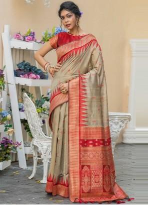 Weaving Festival Classic Designer Saree