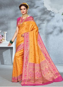 Weaving Festival Saree