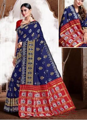 Weaving Festival Trendy Saree